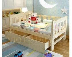 Детская кровать из березы Соня
