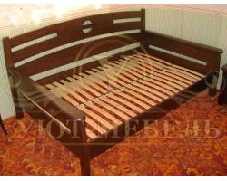 Деревянная односпальная кровать Луи