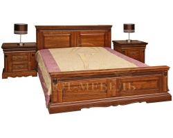 Кровать из массива Милано Люкс