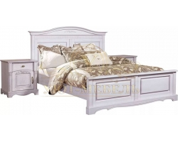Кровать из массива Паола