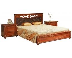 Кровать из массива Валенсия Тахта Люкс