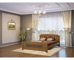 Деревянная односпальная кровать Афина
