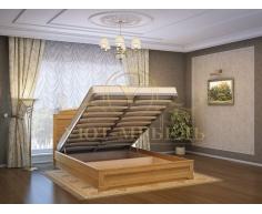 Кровать с подъемным механизмом из массива Афина тахта