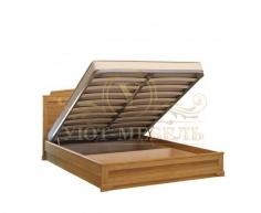 Деревянная двуспальная кровать из массива Афина тахта