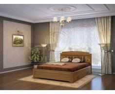 Кровать с ящиками из массива Афина тахта