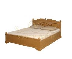 Кровать с ящиками из массива Афродита тахта