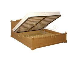 Кровать с подъемным механизмом из массива Афродита тахта