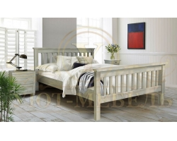 Кровать из массива сосны Арли