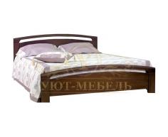 Кровать с ящиками из массива Бали