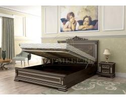 Деревянная двуспальная кровать из массива Британия тахта