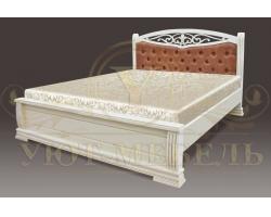 Кровать с подъемным механизмом из массива Джаспер тахта