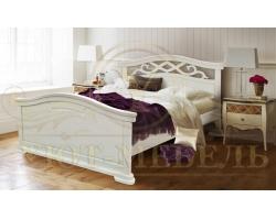 Кровать из массива сосны Эстель