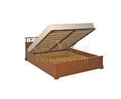 Кровать с подъемным механизмом из массива Ева тахта
