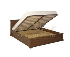 Кровать с подъемным механизмом из массива Гармония тахта