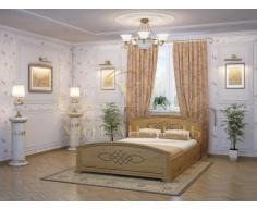 Деревянная односпальная кровать Гера