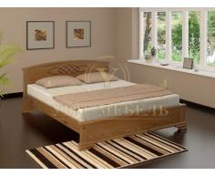 Деревянная двуспальная кровать из массива Гера тахта
