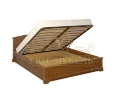 Кровать с подъемным механизмом из массива Гера тахта