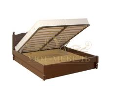 Кровать с подъемным механизмом из массива Герцог тахта