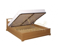 Кровать с подъемным механизмом из массива Ирида тахта