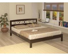 Купить деревянную кровать Жоржетта тахта с ковкой