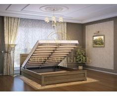 Кровать с подъемным механизмом из массива Классика тахта