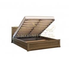 Деревянная двуспальная кровать из массива Классика тахта