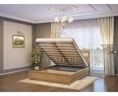 Кровать с подъемным механизмом из массива Лира тахта