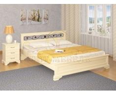 Кровать для дачи Лира тахта с ковкой