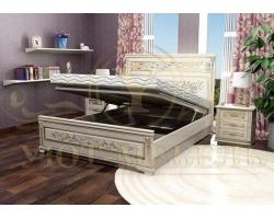 Кровать с подъемным механизмом из массива Лирона 4