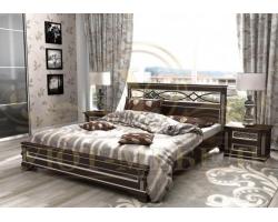 Кровать из массива сосны Лирона тахта