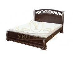 Кровать с ящиками из массива Лорена
