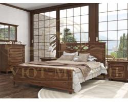 Купить деревянную кровать Мальта