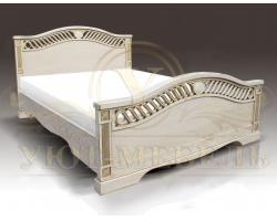 Кровать из массива сосны Мальта 2