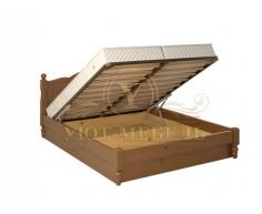 Кровать с подъемным механизмом из массива Мелодия тахта