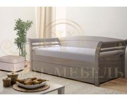Кровать из массива сосны Милана