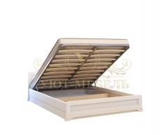 Кровать с подъемным механизмом из массива Муза тахта
