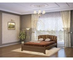Деревянная двуспальная кровать из массива Нефертити тахта
