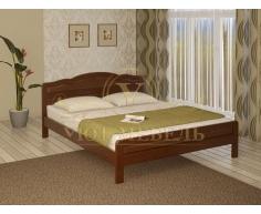 Деревянная двуспальная кровать из массива Новинка тахта