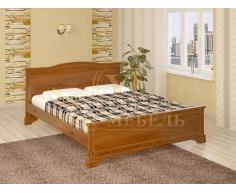 Деревянная двуспальная кровать из массива Октава