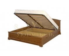 Кровать с подъемным механизмом из массива Октава тахта
