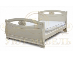 Кровать из массива сосны Оливия