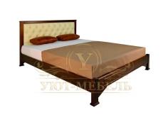 Деревянная двуспальная кровать из массива Омега тахта
