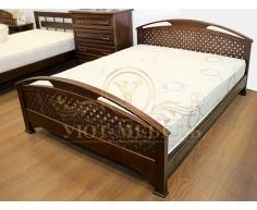 Купить деревянную кровать Омега сетка