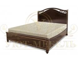 Кровать с подъемным механизмом из массива Портленд тахта
