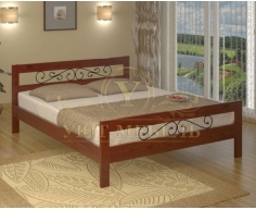 Кровать из массива сосны Рио