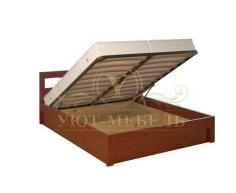 Кровать с подъемным механизмом из массива Рио тахта