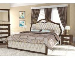 Кровать с подъемным механизмом из массива Ровелла