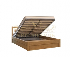 Кровать с подъемным механизмом из массива Сакура тахта