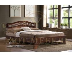 Кровать с подъемным механизмом из массива Сицилия тахта