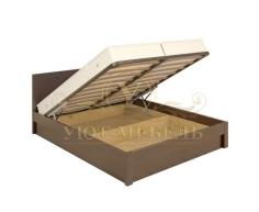 Кровать с подъемным механизмом из массива София тахта